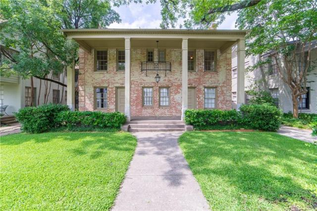 4128 Druid Lane, University Park, TX 75205 (MLS #14125453) :: The Heyl Group at Keller Williams