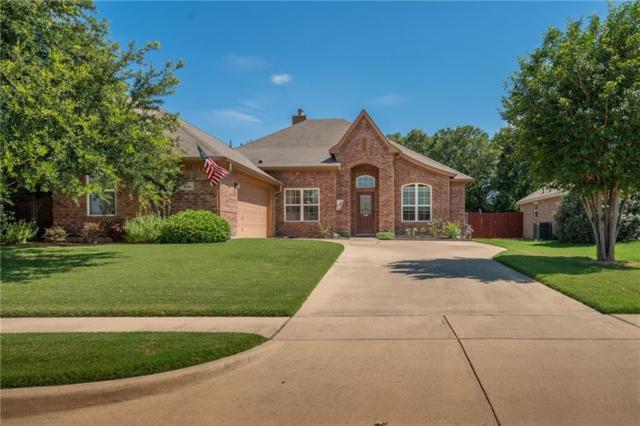308 Hidden Lake Court, Burleson, TX 76028 (MLS #14125779) :: The Heyl Group at Keller Williams