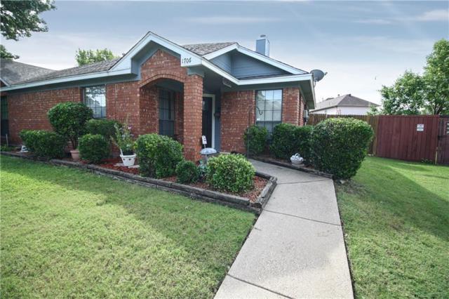 1706 Quail Run Drive, Garland, TX 75040 (MLS #14125799) :: The Heyl Group at Keller Williams