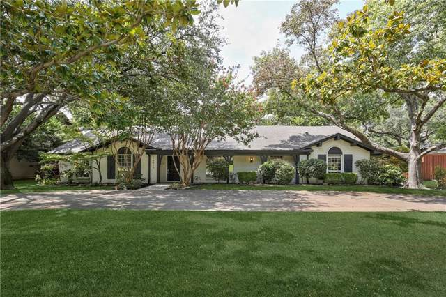 14415 Meandering Way, Dallas, TX 75254 (MLS #14126583) :: Hargrove Realty Group