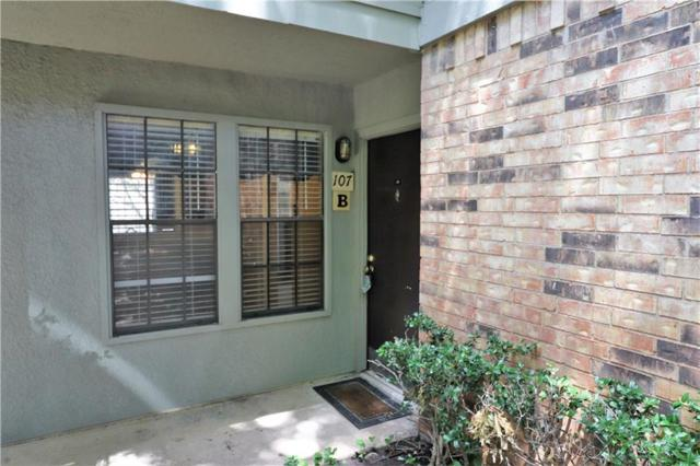 5335 Bent Tree Forest Drive #107, Dallas, TX 75248 (MLS #14127281) :: The Mitchell Group
