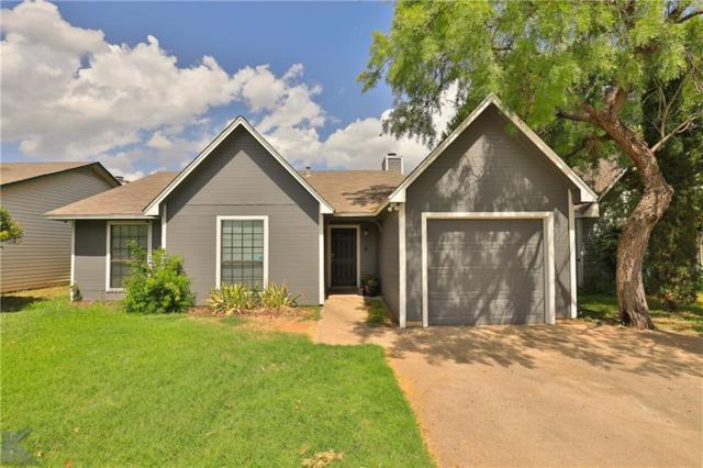 32 Shady Brook Circle, Abilene, TX 79605 (MLS #14128216) :: Lynn Wilson with Keller Williams DFW/Southlake
