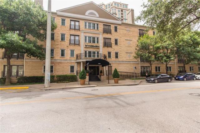 3400 Welborn Street #111, Dallas, TX 75219 (MLS #14128431) :: Team Hodnett