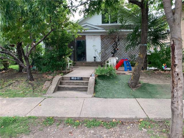 805 Elsbeth Street, Dallas, TX 75208 (MLS #14128626) :: Baldree Home Team