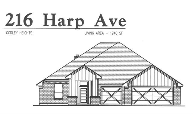 216 Harp Avenue, Godley, TX 76044 (MLS #14129187) :: RE/MAX Town & Country