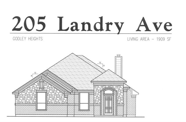 205 Landry Avenue, Godley, TX 76044 (MLS #14129334) :: RE/MAX Town & Country