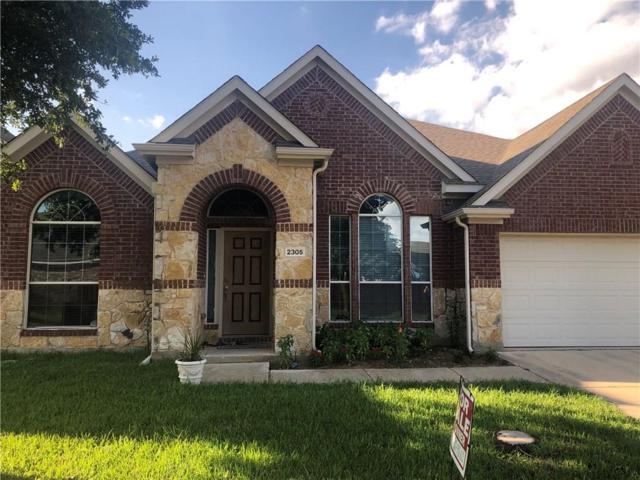 2305 Redondo Road, Denton, TX 76210 (MLS #14129580) :: All Cities Realty