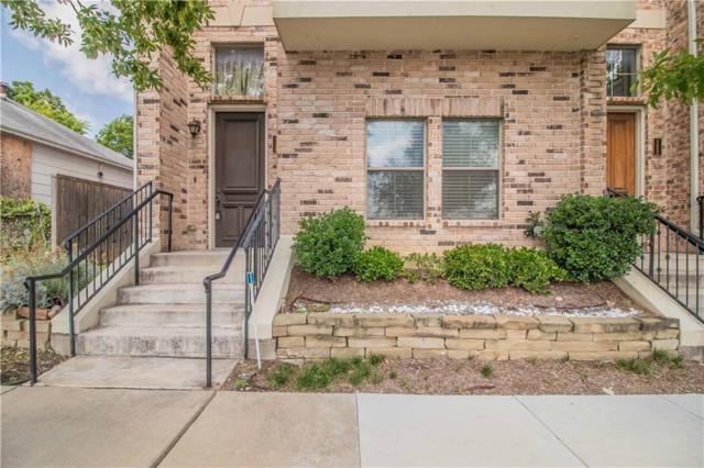 2816 Lubbock Avenue #124, Fort Worth, TX 76109 (MLS #14129970) :: Van Poole Properties Group