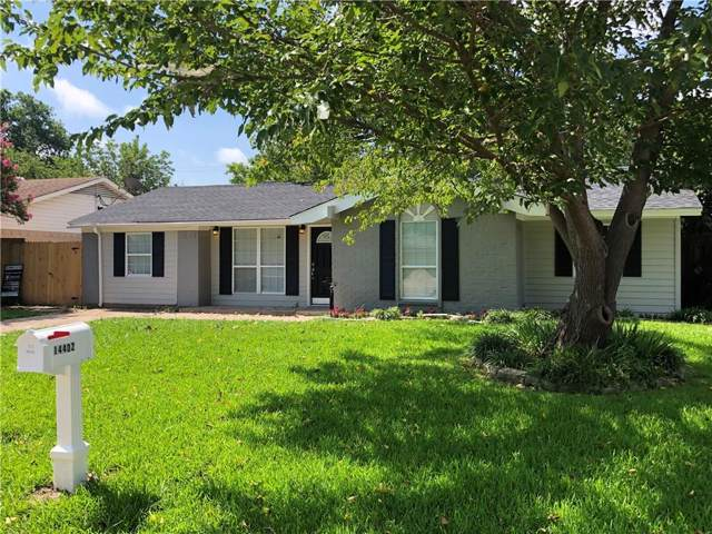 14402 Cimarron Drive, Balch Springs, TX 75180 (MLS #14130097) :: The Heyl Group at Keller Williams