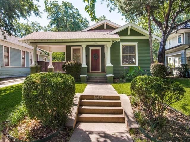 5312 Tremont Street, Dallas, TX 75214 (MLS #14130165) :: Vibrant Real Estate