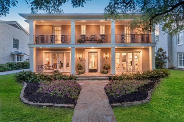 4549 Rheims Place, Highland Park, TX 75205 (MLS #14130237) :: Robbins Real Estate Group