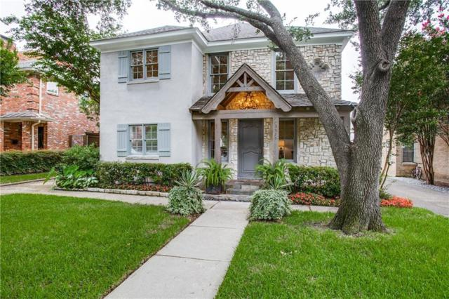 3525 Rosedale Avenue, University Park, TX 75205 (MLS #14130289) :: Camacho Homes