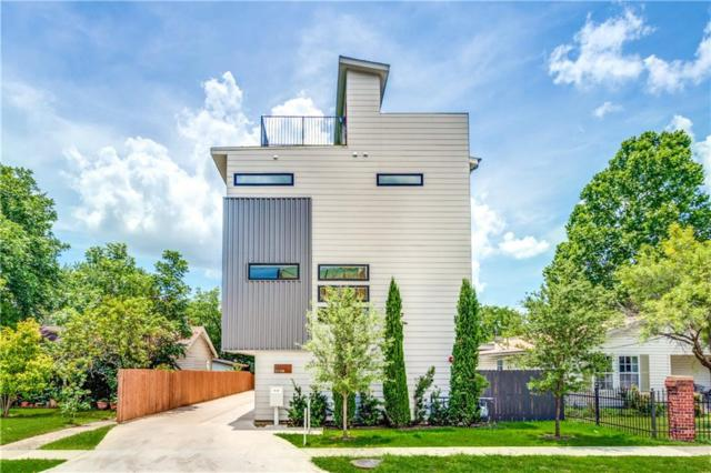 5706 Lindell Avenue A, Dallas, TX 75206 (MLS #14130292) :: RE/MAX Town & Country