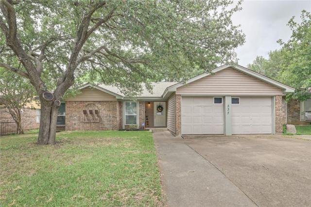 537 Linda Drive, Burleson, TX 76028 (MLS #14130301) :: RE/MAX Town & Country