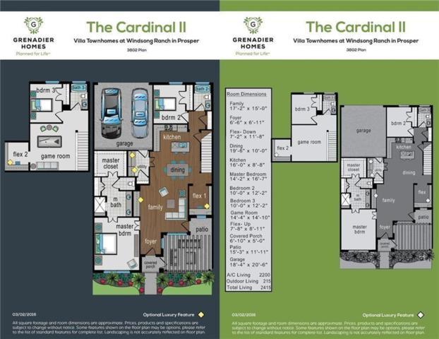 3821 Dalea Drive, Prosper, TX 75078 (MLS #14130587) :: Real Estate By Design
