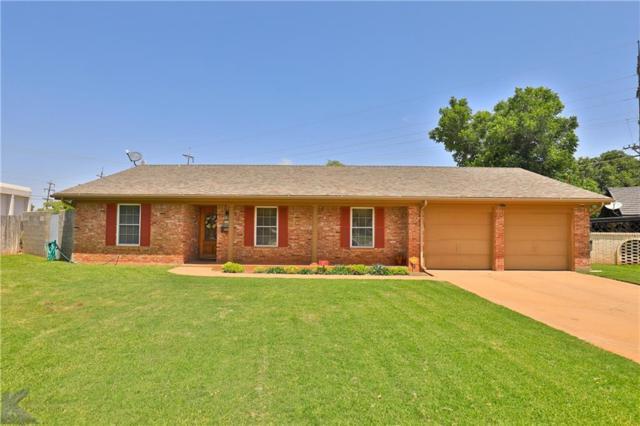 2734 Brentwood Drive, Abilene, TX 79605 (MLS #14130924) :: Lynn Wilson with Keller Williams DFW/Southlake