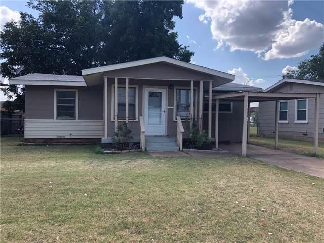 1318 S Crockett Drive, Abilene, TX 79605 (MLS #14130934) :: The Mitchell Group