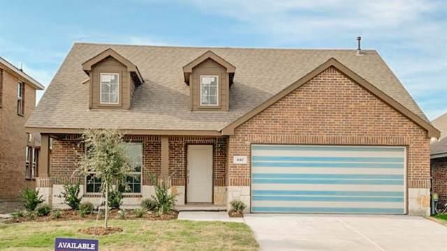 337 Burr Lane, Fate, TX 75189 (MLS #14130981) :: RE/MAX Landmark