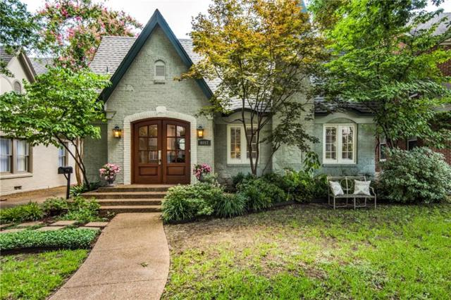 4017 Stanford Avenue, University Park, TX 75225 (MLS #14131344) :: The Star Team | JP & Associates Realtors