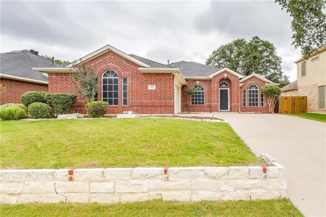 515 Deerwood Drive, Burleson, TX 76028 (MLS #14131445) :: RE/MAX Town & Country