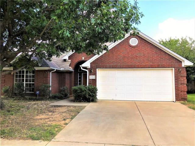 6104 Cliffbrook Drive, North Richland Hills, TX 76180 (MLS #14131657) :: Lynn Wilson with Keller Williams DFW/Southlake