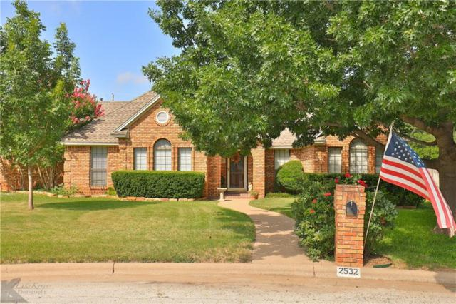 2532 Crestline Drive, Abilene, TX 79602 (MLS #14131685) :: RE/MAX Town & Country