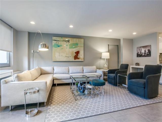 3883 Turtle Creek Boulevard 117-18, Dallas, TX 75219 (MLS #14131741) :: Van Poole Properties Group