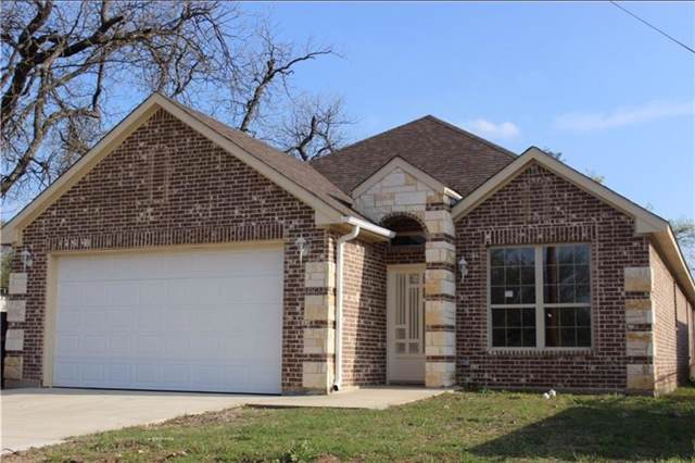 3820 Avenue G, Fort Worth, TX 76105 (MLS #14131913) :: The Heyl Group at Keller Williams