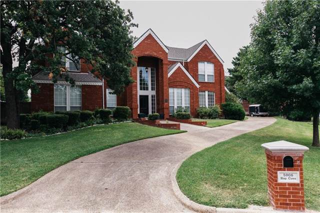 5908 Bay Cove Drive, Arlington, TX 76013 (MLS #14132224) :: Frankie Arthur Real Estate