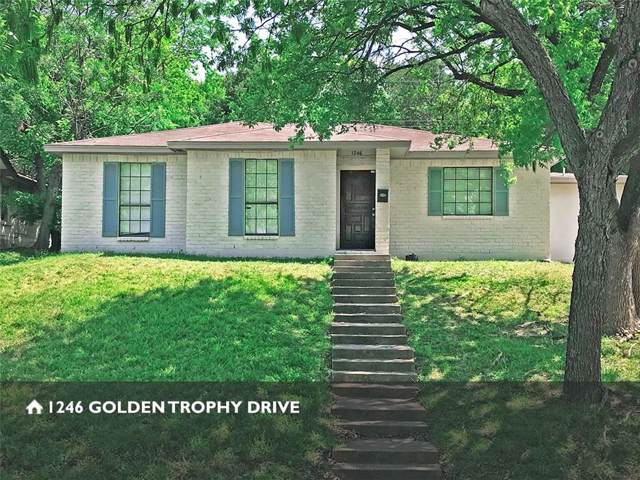 1246 Golden Trophy Drive, Dallas, TX 75232 (MLS #14132280) :: The Sarah Padgett Team