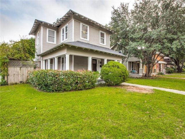 202 S Edgefield Avenue, Dallas, TX 75208 (MLS #14132615) :: Van Poole Properties Group