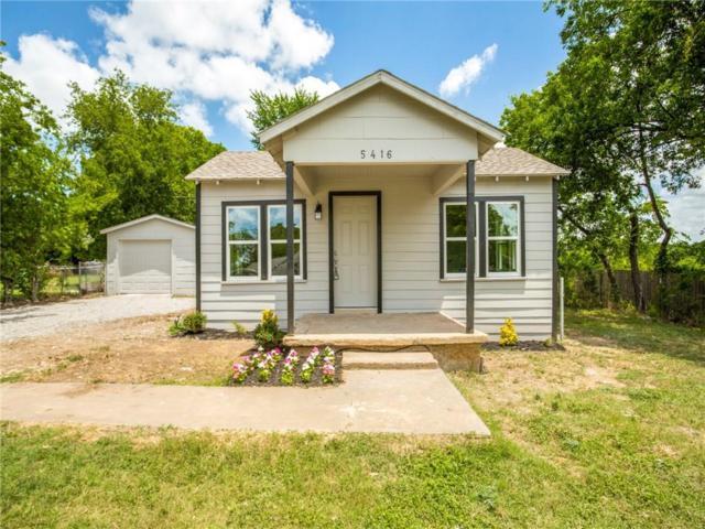 5416 Flagstone Drive, Sansom Park, TX 76114 (MLS #14132794) :: Lynn Wilson with Keller Williams DFW/Southlake