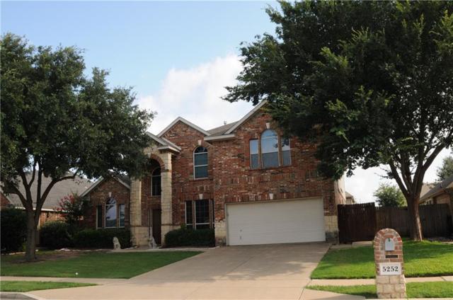 5252 Wheat Sheaf Trail, Fort Worth, TX 76179 (MLS #14132810) :: Lynn Wilson with Keller Williams DFW/Southlake
