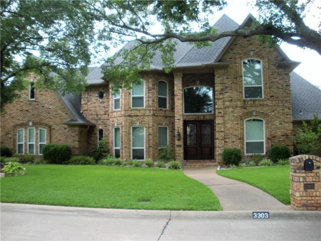 3303 Queensbury Way W, Colleyville, TX 76034 (MLS #14132957) :: The Tierny Jordan Network