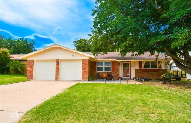5242 Burbank Drive, Abilene, TX 79605 (MLS #14133160) :: The Tonya Harbin Team