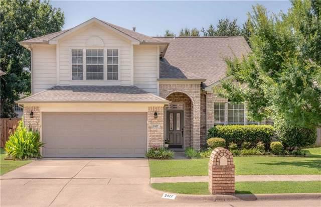 2417 Amber Lane, Flower Mound, TX 75028 (MLS #14133404) :: Team Hodnett