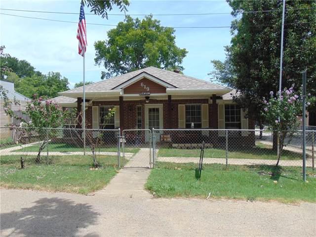 619 Shore Drive, Lake Dallas, TX 75065 (MLS #14133587) :: RE/MAX Town & Country