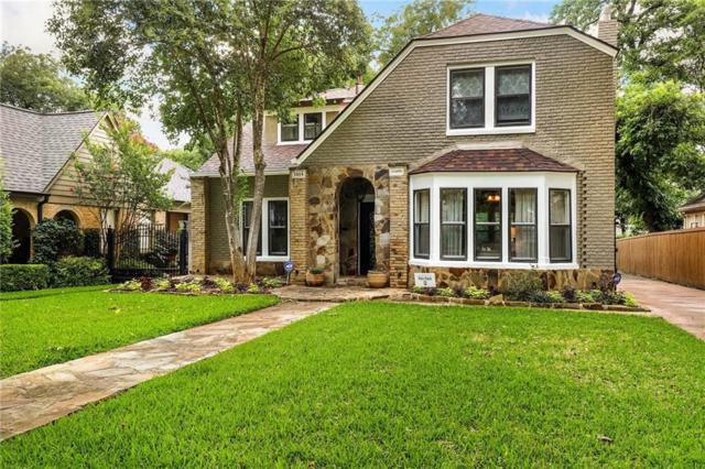1014 N Clinton Avenue, Dallas, TX 75208 (MLS #14133629) :: RE/MAX Town & Country
