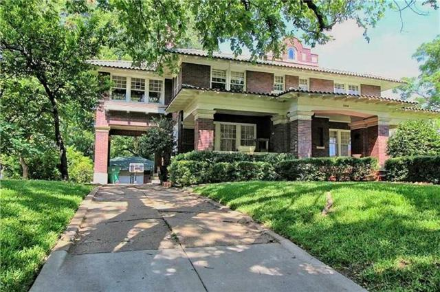 2420 College Avenue, Fort Worth, TX 76110 (MLS #14133743) :: RE/MAX Town & Country