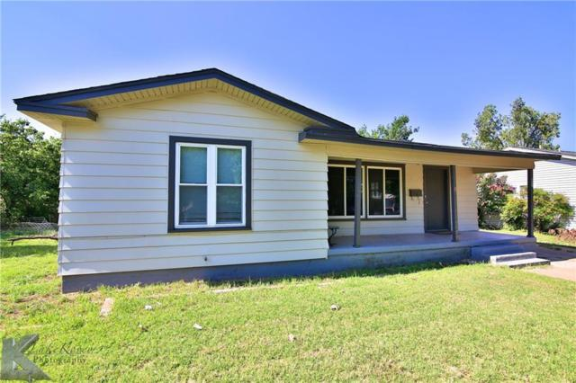 541 En 21st Street, Abilene, TX 79601 (MLS #14133870) :: RE/MAX Town & Country