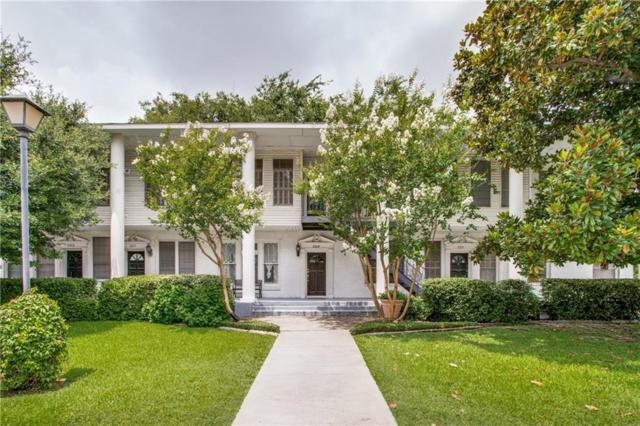 3319 Reagan Street A, Dallas, TX 75219 (MLS #14134248) :: Lynn Wilson with Keller Williams DFW/Southlake