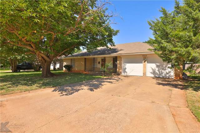 2010 Marsalis Drive, Abilene, TX 79603 (MLS #14134249) :: RE/MAX Pinnacle Group REALTORS