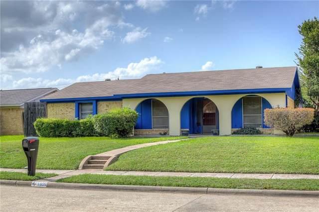 1805 Eldorado Drive, Garland, TX 75042 (MLS #14134252) :: The Mitchell Group