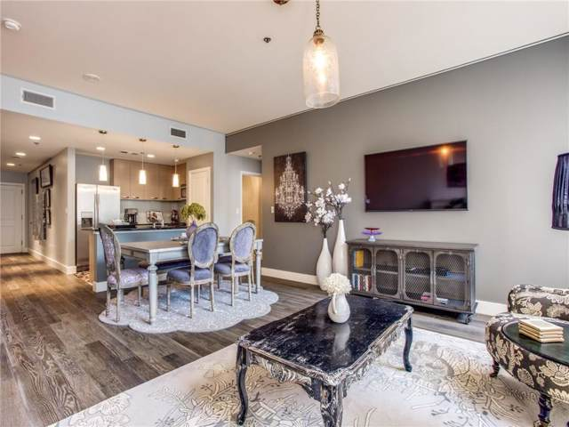1200 Main Street #409, Dallas, TX 75202 (MLS #14134375) :: HergGroup Dallas-Fort Worth