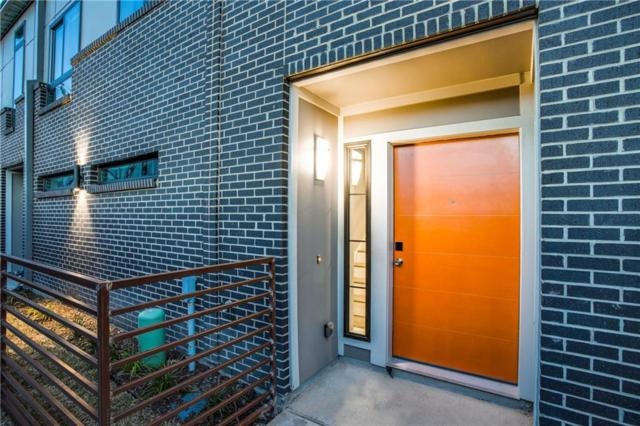 5711 Lindell Avenue #101, Dallas, TX 75206 (MLS #14134478) :: The Mitchell Group