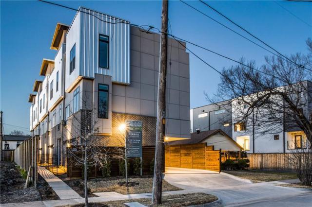 5808 Lindell Avenue #103, Dallas, TX 75206 (MLS #14134528) :: Van Poole Properties Group