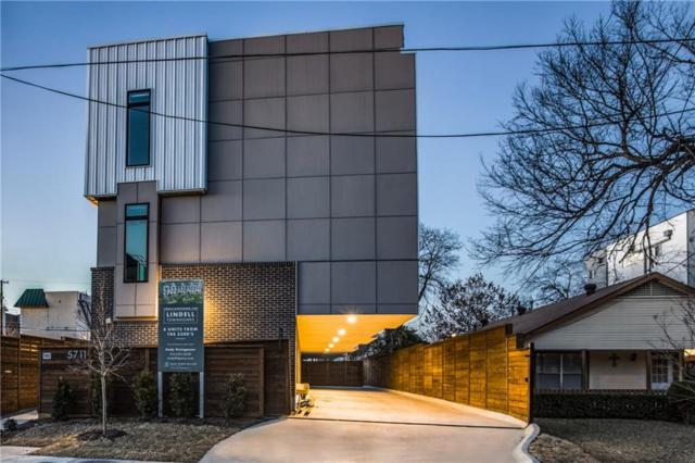 5808 Lindell Avenue #104, Dallas, TX 75206 (MLS #14134541) :: Van Poole Properties Group