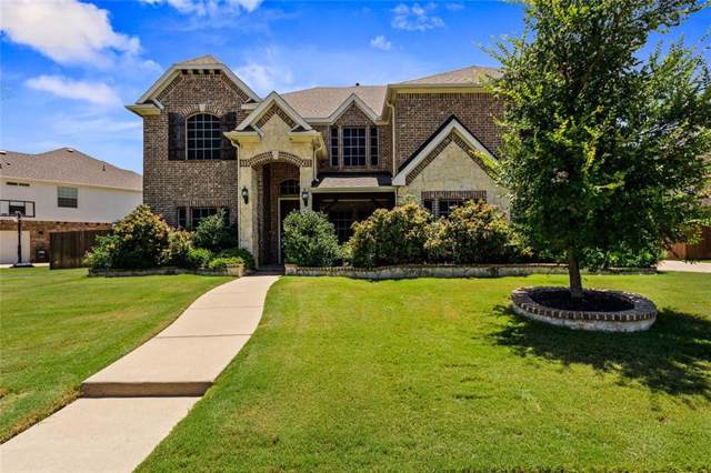 5104 Crestwater Drive, Mansfield, TX 76063 (MLS #14134605) :: RE/MAX Town & Country