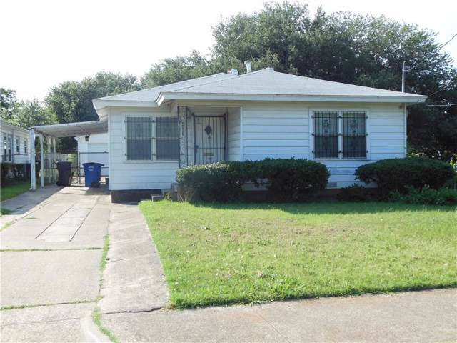 4107 Canal Street, Dallas, TX 75210 (MLS #14134649) :: The Star Team | JP & Associates Realtors