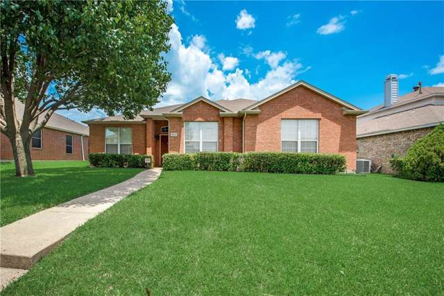 803 Dandelion Drive, Mesquite, TX 75149 (MLS #14134742) :: RE/MAX Town & Country
